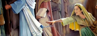 touch hem of garment